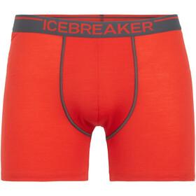 Icebreaker Anatomica - Ropa interior Hombre - rojo